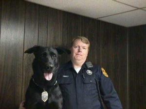 mantua police dog
